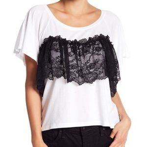 Abound Lace Mix Tee